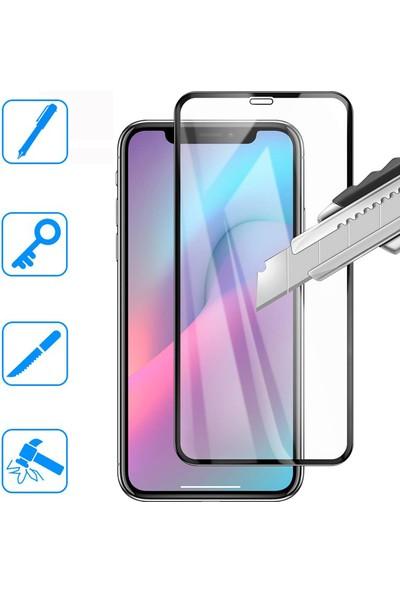Mobilestore 5D Glass iPhone 11 Pro Max Ekran Koruyucu Tam Kaplayan Cam