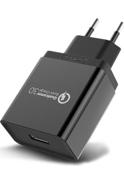 Qualcomm Hızlı Şarj 3.0 Cep Telefonu Şarj Cihazı 5-9-12 Volt 18W