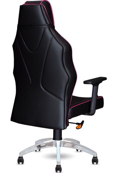 Calitte   Harley VIP CX   Profesyonel Oyuncu Koltuğu   Siyah-Pembe