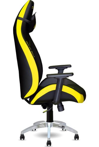 Calitte   Titan CTX   Profesyonel Oyuncu Koltuğu   Siyah-Sarı