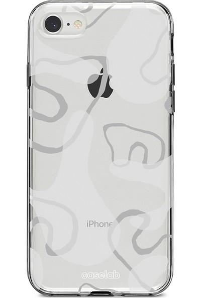 """Caselab Apple iPhone 7 / 8 """"Smoke Classic"""" Tasarımlı Şeffaf Kılıf"""