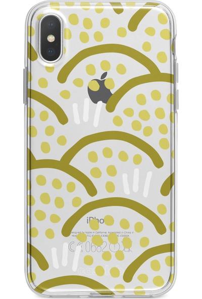 """Caselab Apple iPhone X / XS """"Seeds Of Hope"""" Tasarımlı Şeffaf Kılıf"""