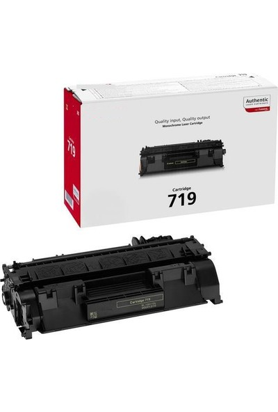 Elit Canon CRG-719 Toner 2700 Sayfa Siyah