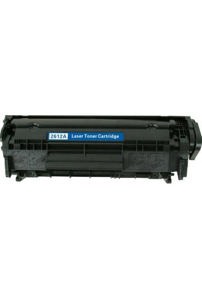 Elit HP Q2612A Toner 2000 Sayfa Siyah