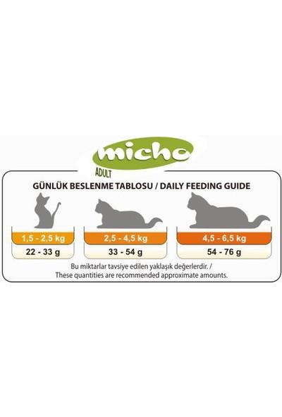 Micho Tavuklu Yetişkin Kedi Maması 1,5 kg x 3 Adet