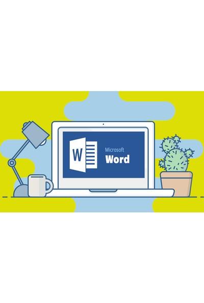 Microsoft Word | Sıfırdan Zirveye | 2019