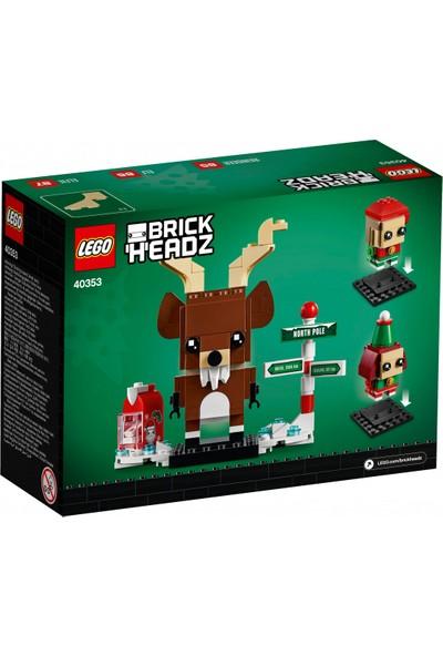 LEGO BrickHeadz 40353 Reindeer, Elf & Elfie