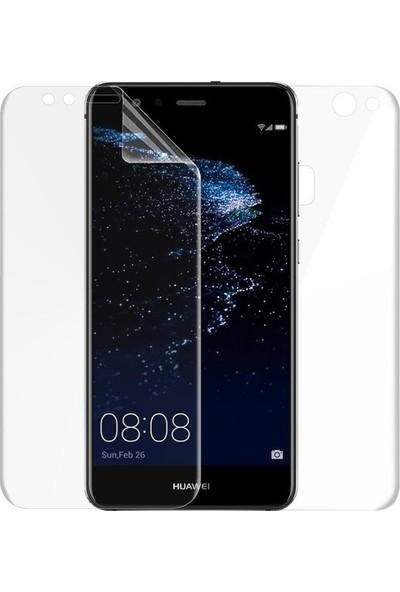 Magazabu Huawei P10 Lite Ön Arka Full Body Kavisli Tam Kapatan Ekran Koruyucu