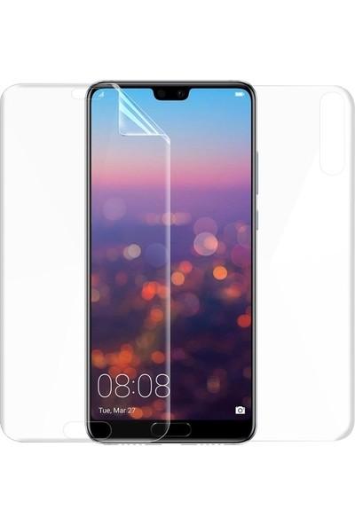 Magazabu Huawei P20 Pro Ön Arka Full Body Kavisli Tam Kapatan Ekran Koruyucu