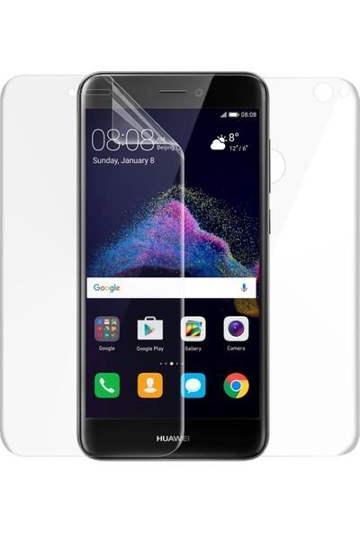 Magazabu Huawei P9 Lite 2017 Ön Arka Full Body Kavisli Tam Kapatan Ekran Koruyucu