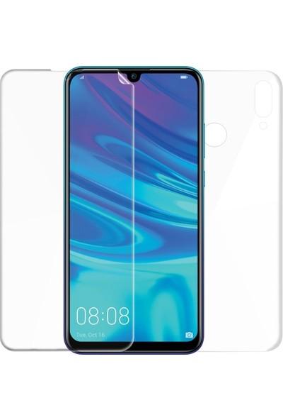 Magazabu Huawei Y7 2019 Ön Arka Full Body Kavisli Tam Kapatan Ekran Koruyucu