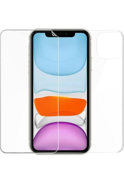 Magazabu Apple iPhone 11 Ön Arka Full Body Kavisli Tam Kapatan Ekran Koruyucu