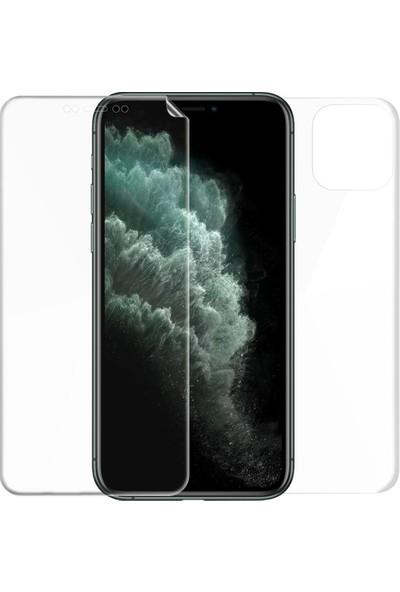 Magazabu Apple iPhone 11 Pro Max Ön Arka Full Body Kavisli Tam Kapatan Ekran Koruyucu