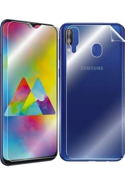Magazabu Samsung Galaxy A40 Ön Arka Full Body Kavisli Tam Kapatan Ekran Koruyucu