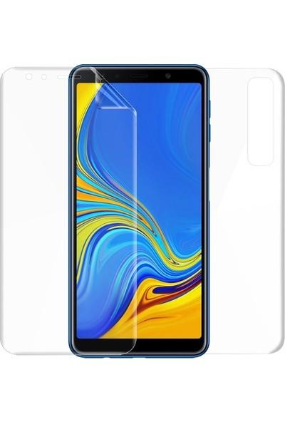 Magazabu Samsung Galaxy A7 2018 Ön Arka Full Body Kavisli Tam Kapatan Ekran Koruyucu