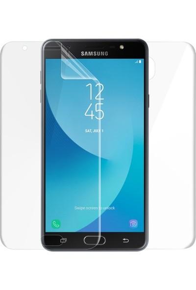 Magazabu Samsung Galaxy J7 Max Ön Arka Full Body Kavisli Tam Kapatan Ekran Koruyucu