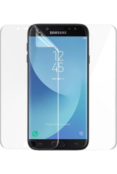 Magazabu Samsung Galaxy J7 Pro 2017 Ön Arka Full Body Kavisli Tam Kapatan Ekran Koruyucu