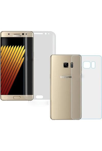 Magazabu Samsung Galaxy Note 7 Ön Arka Full Body Kavisli Tam Kapatan Ekran Koruyucu