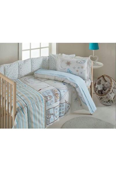 Özdilek Bebek Uyku Seti Mavi
