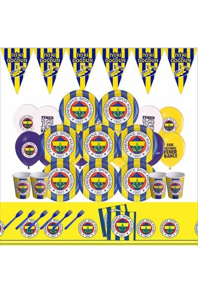 Bayhesaplı Fenerbahçe Doğum Günü Parti Seti 8 Kişilik