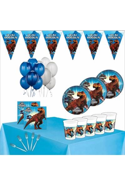 Bayhesaplı Jurassic World Doğum Günü Parti Seti 8 Kişilik