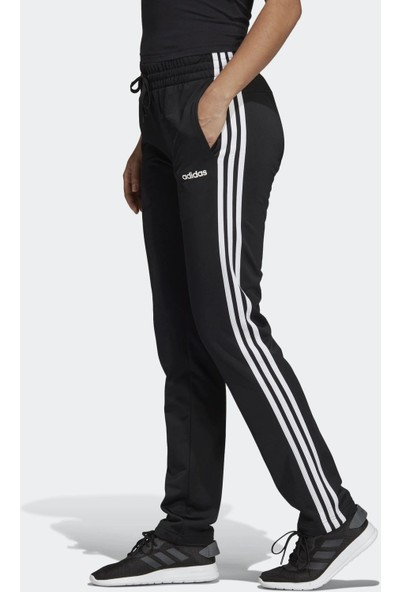 Adidas Kadın Günlük Eşofman Altı DP2375 Siyah W Essentials Tricot Open Hem 3S Pant Tri
