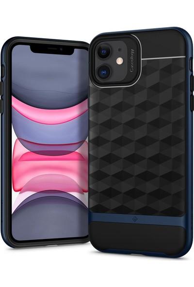 Caseology iPhone 11 Kılıf Parallax Deep Blue - 076CS27210