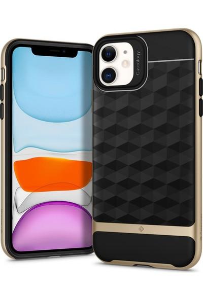 Caseology iPhone 11 Kılıf Parallax Gold - 076CS27211