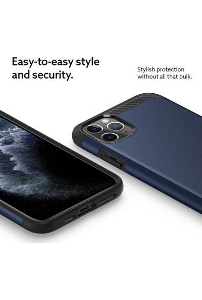 Caseology by Spigen Apple iPhone 11 Pro Max Kılıf Legion Midnight Blue - 075CS27159