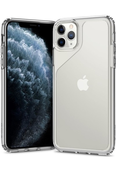 Caseology iPhone 11 Pro Max Kılıf Waterfall Crystal Clear - 075CS27155