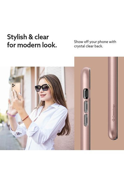 Caseology iPhone 11 Pro Kılıf Skyfall Rose Gold - 077CS27249