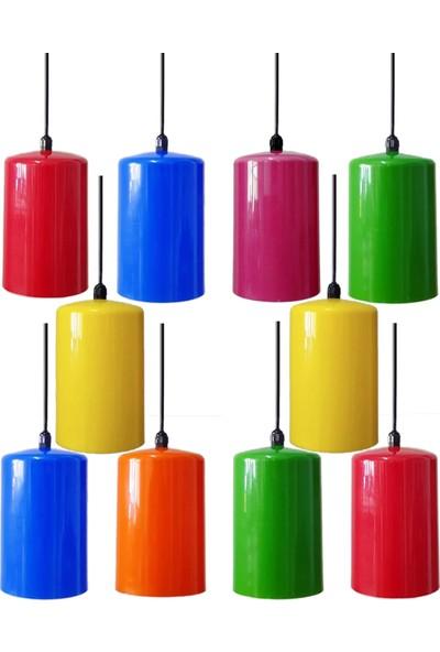 Mza Ağaç Feneri 10'lu Karışık Renk
