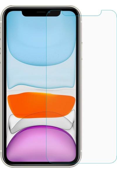 Quse Apple iPhone 11 Premium Silikon Kılıf + Nano Ekran Koruyucu - Şeffaf