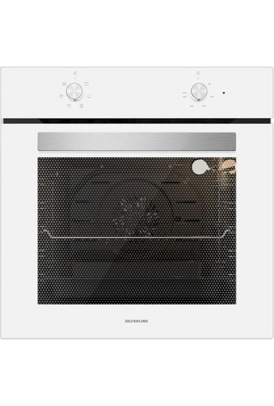 Silverline BO6501W01 S1 Ankastre Fırın Beyaz