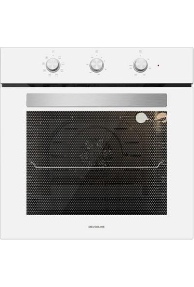 Silverline BO6503W01 S3 Ankastre Fırın Beyaz