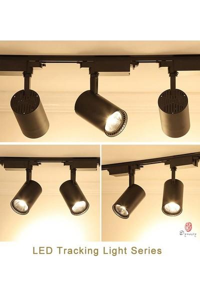 Hero MB 30 W LED Ray Spot Vitrin Mağaza Armatürü Siyah Kasa 3'lü