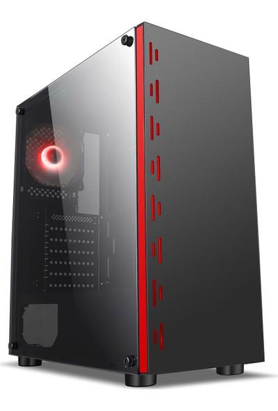 OZO Gaming CS1000 RGB 300W ATX Oyuncu Kasası