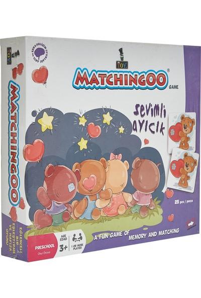 Mr. Toy Matchıngoo Eşleme Ve Hafıza Oyunu ( Sevimli Ayıcık )