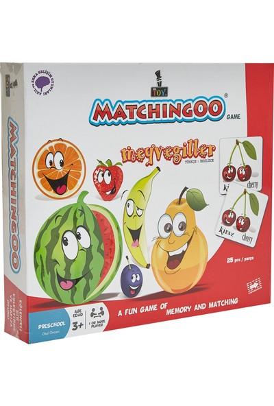 Mr. ToyMatchıngoo Eşleme Ve Hafıza Oyunu ( Meyvegiller )