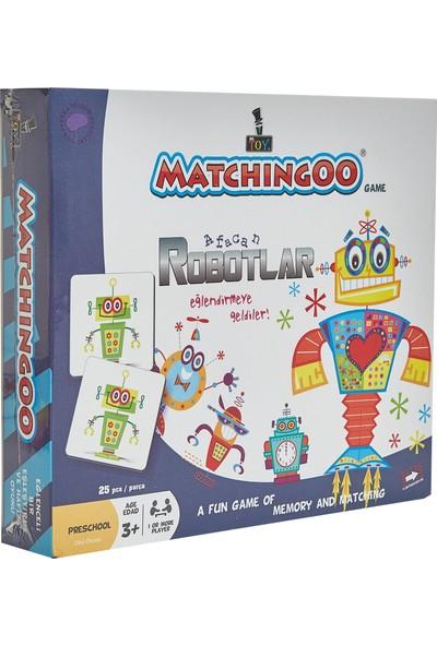 Mr. Toy Matchıngoo Eşleme Ve Hafıza Oyunu ( Robotlar )