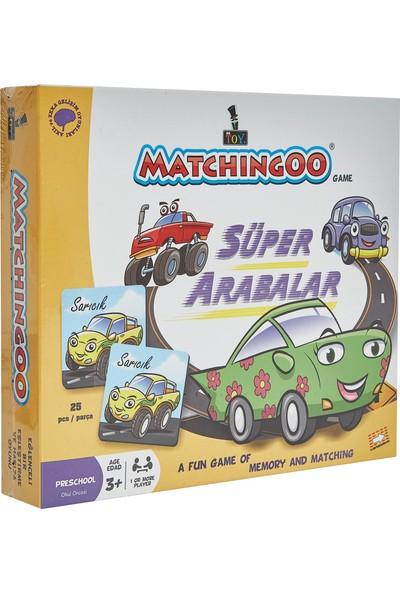 Mr. Toy Matchıngoo Eşleme Ve Hafıza Oyunu (Arabalar )