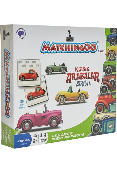 Mr. Toy Matchıngoo Eşleme Ve Hafıza Oyunu ( Klasik Arabalar )