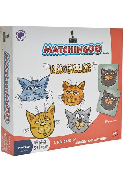 Mr. Toy Matchıngoo Eşleme Ve Hafıza Oyunu ( Kedigiller )