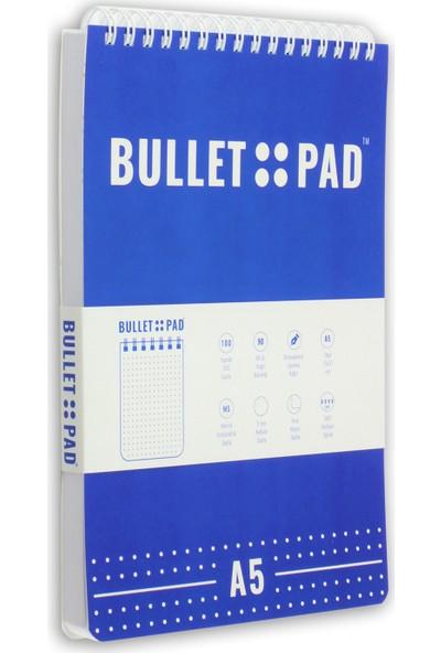 Bullet Pad Grapewhite Noktalı Defter Spiralli