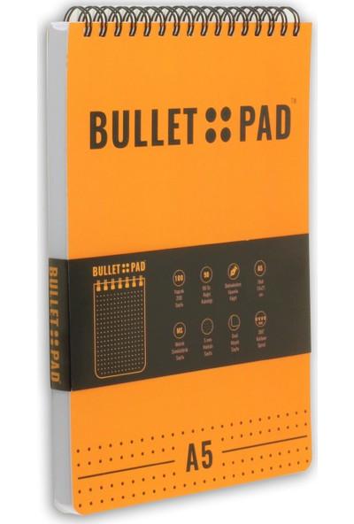 Bullet Pad Mangoblack Noktalı Defter Spiralli