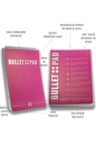 Bullet Pad Sakurawhite Noktalı Defter Spiralli