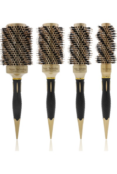 Land Of Myth - LOM1110 Nano Teknoloji Seramik+İyonik, Termal Fön Saç Fırçası, Antistatik