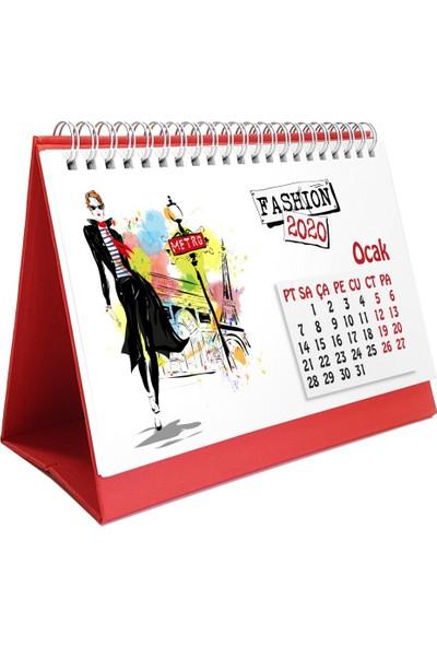 Bialdım Fashion Masa Takvimi 2020 - Kırmızı