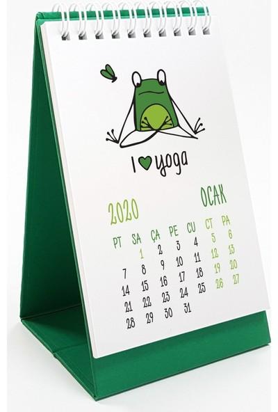 Bialdım Kurbağa Masa Takvimi 2020