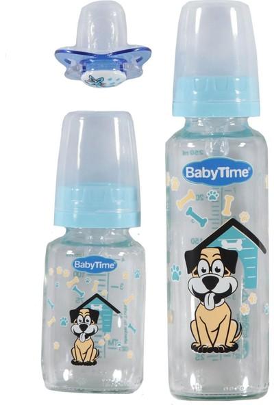 BabyTime Biberon 3'lü Cam Set